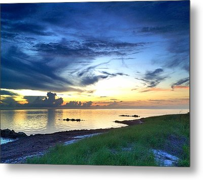 Pamlico Sunset Metal Print