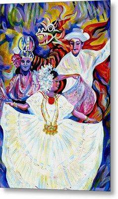 Panama Carnival. Fiesta Metal Print