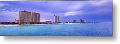 Panama City Beach Metal Print by David Morefield