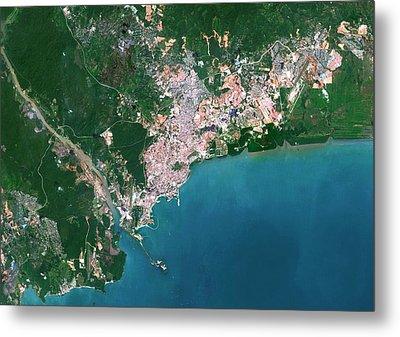 Panama City Metal Print by Planetobserver
