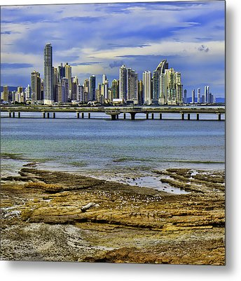 Metal Print featuring the photograph Panama City by Rob Tullis