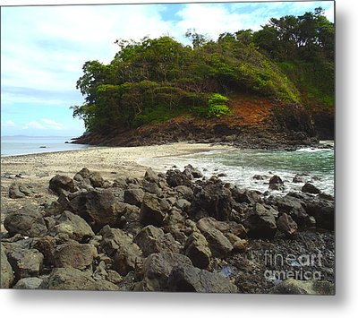 Panama Island Metal Print by Carey Chen