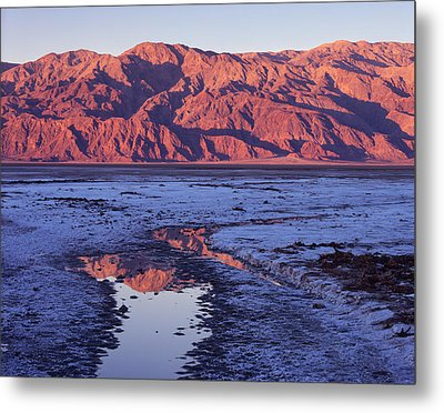 Panamint Reflection 2 Metal Print