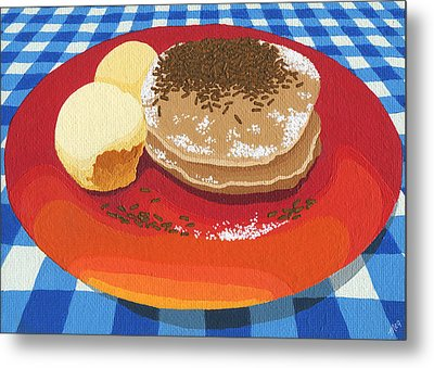 Pancakes Week 15 Metal Print by Meg Shearer
