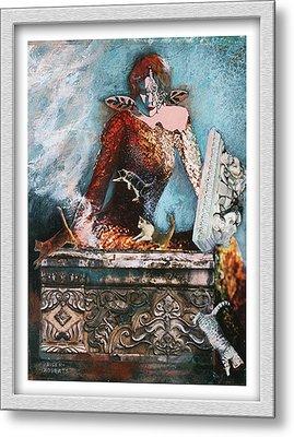 Pandora's Box Metal Print by Eve Riser Roberts