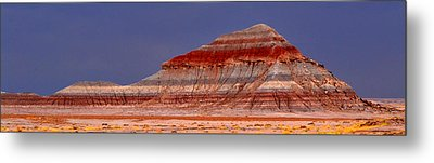Panorama - Painted Desert 004 Metal Print by George Bostian