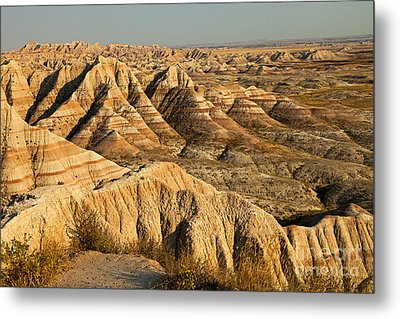 Panorama Point Badlands National Park Metal Print