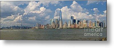 Panoramic Of New York City Metal Print