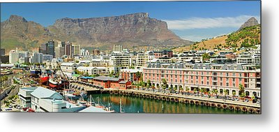 Panoramic View Of Cape Grace Hotel Metal Print