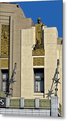 Pantages Theater Metal Print by Gregory Dyer