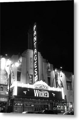 Pantages Theatre Metal Print