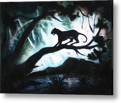 Panther Country Metal Print