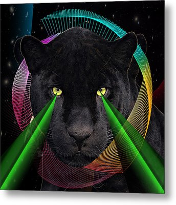 Panther Metal Print by Mark Ashkenazi