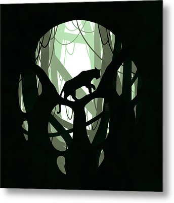 Panther Paw Metal Print by Daniel Hapi