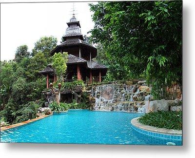Panviman Chiang Mai Spa And Resort - Chiang Mai Thailand - 011332 Metal Print