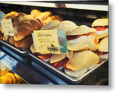 Pappalecco Salmoncino Metal Print by Tanya Harrison