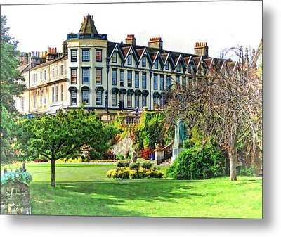 Parade Gardens Bath Metal Print by Paul Gulliver