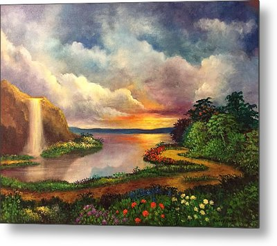 Paradise And Beyond Metal Print