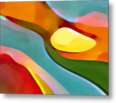 Paradise 5 Metal Print by Amy Vangsgard