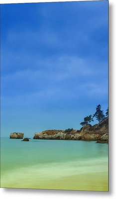 Paradise Beach Metal Print by Marco Oliveira
