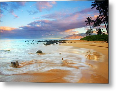 Paradise Dawn Metal Print by Mike  Dawson