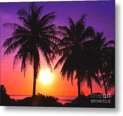 Paradise Is Waiting Metal Print