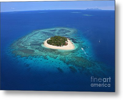 Paradise Island In South Sea I Metal Print by Lars Ruecker