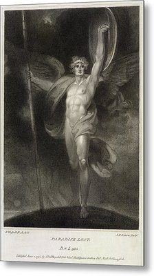 Paradise Lost Metal Print by British Library