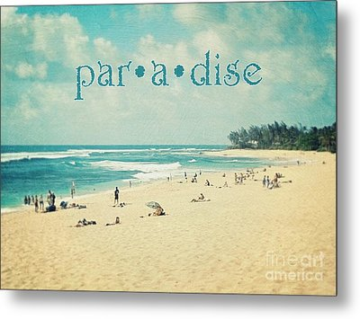 Metal Print featuring the photograph Paradise by Sylvia Cook