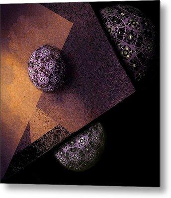 Metal Print featuring the digital art Paragon by Susan Maxwell Schmidt