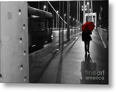 Metal Print featuring the photograph Parallel Speed by Simona Ghidini