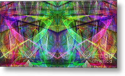 Parallel Universe Ap130511-22 Metal Print by Wingsdomain Art and Photography