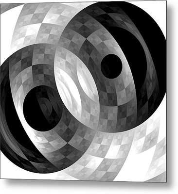 Metal Print featuring the digital art Parallel Universes by Martina  Rathgens