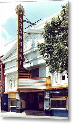 Paramount Theater In Baton Rouge Metal Print