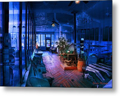 Paranormal Activity Metal Print by Gunter Nezhoda
