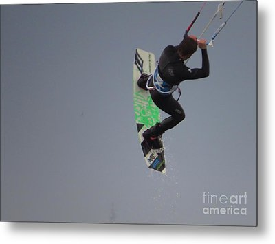 Parasurfer7 Metal Print by Rrrose Pix