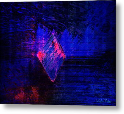 Metal Print featuring the digital art Parched Rainforest by Kylie Sabra