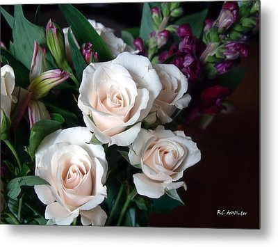 Metal Print featuring the photograph Pardon My Blush by RC deWinter