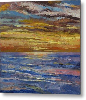 Parfait Sunset Metal Print by Michael Creese
