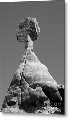 Paria Utah II Metal Print by Dave Gordon