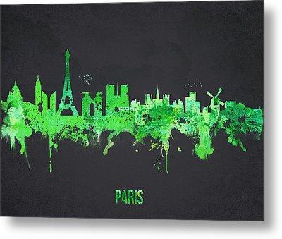 Paris France Metal Print by Aged Pixel