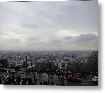Paris France - Basilica Of The Sacred Heart - Sacre Coeur - 12123 Metal Print by DC Photographer