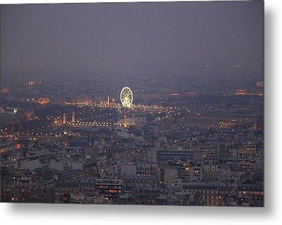 Paris France - Eiffel Tower - 011321 Metal Print by DC Photographer
