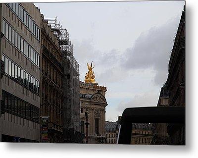 Paris France - Street Scenes - 0113106 Metal Print