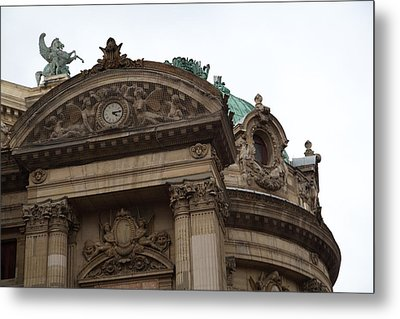 Paris France - Street Scenes - 0113114 Metal Print by DC Photographer
