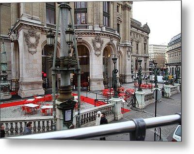 Paris France - Street Scenes - 0113116 Metal Print