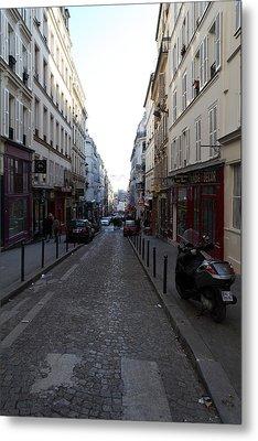Paris France - Street Scenes - 01133 Metal Print by DC Photographer