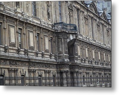 Paris France - Street Scenes - 011337 Metal Print by DC Photographer