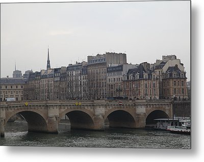 Paris France - Street Scenes - 011343 Metal Print by DC Photographer