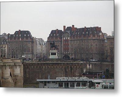Paris France - Street Scenes - 011344 Metal Print